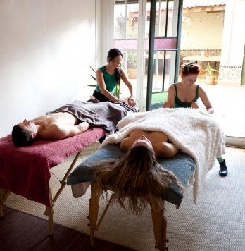 Delicious massage