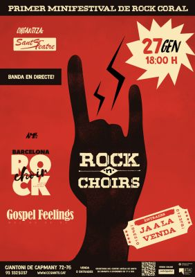CONCERT BCN ROCK CHOIR I GOSPEL FEELINGS